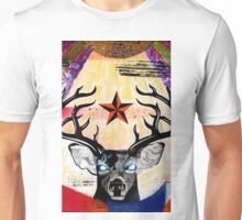 Pricilla Aqua Deer Unisex T-Shirt