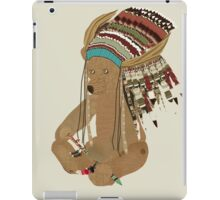 chief ted iPad Case/Skin
