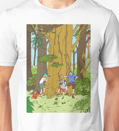 Walking amongst the giants Unisex T-Shirt