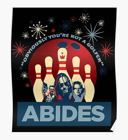 Abides Poster