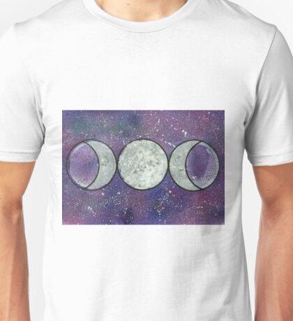 Triple Moon Unisex T-Shirt