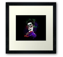 Why So Serious ? Framed Print