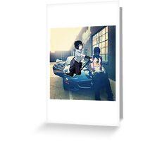 Chief Keef and Sasuke Greeting Card