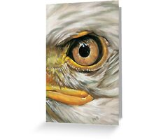 Eye-Catching Bald Eagle Greeting Card