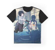 Chief Keef and Sasuke Graphic T-Shirt