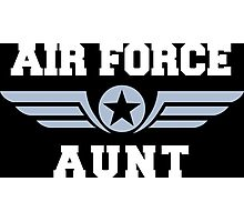 Air Force Aunt Photographic Print
