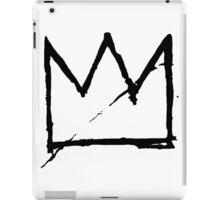 Crown (Black) iPad Case/Skin