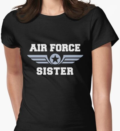 Air Force Sister Womens Fitted T-Shirt