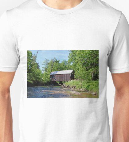 Moxley Bridge, Chelsea Vermont Unisex T-Shirt