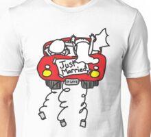 Just Married Getaway Car Unisex T-Shirt