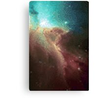 8-bit Galaxy I Canvas Print