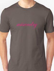 Misandry is ironic Unisex T-Shirt