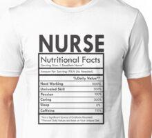 Nurse Nutitional Facts Tee Unisex T-Shirt