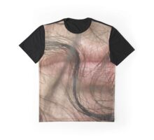 Partial Self-Portrait Graphic T-Shirt