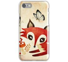 Playful Fox iPhone Case/Skin