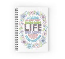 LIFE (John 10:10) Spiral Notebook