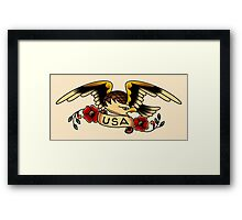 USA Eagle Framed Print