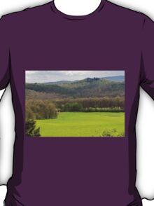 hilly landscape T-Shirt
