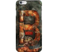 Steampunk - Alphabet - B is for Belts iPhone Case/Skin