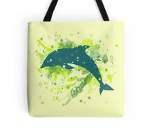 80s dolphin  Tote Bag