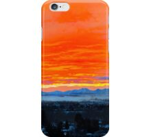Breathtaking Chinook Sunset On The Rockies iPhone Case/Skin