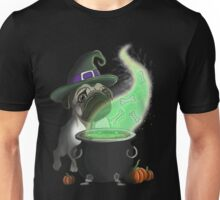 Pug witch Unisex T-Shirt