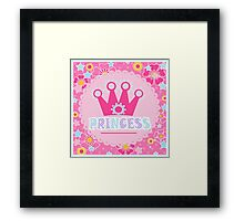 "For the little Princess. From the series ""Gifts for kids"" .  Framed Print"