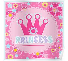 """For the little Princess. From the series """"Gifts for kids"""" .  Poster"""