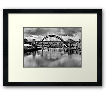 River Tyne Bridges Framed Print