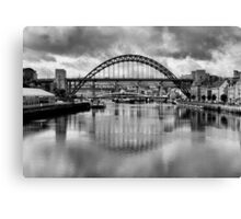 River Tyne Bridges Canvas Print