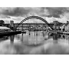 River Tyne Bridges Photographic Print
