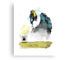 Adventure of the Colossus Canvas Print