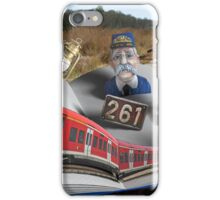 Look What Popped Up on the Tracks iPhone Case/Skin