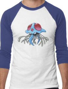 Tentacruel Men's Baseball ¾ T-Shirt