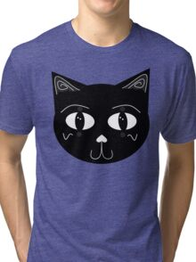 Alley cat Tri-blend T-Shirt