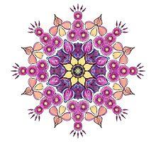 Mandala - Petals Photographic Print