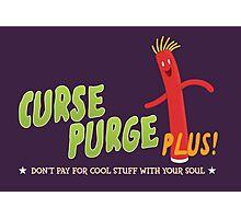 Curse Purge Plus! Photographic Print
