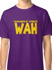 Wah Waluigi Voice Classic T-Shirt
