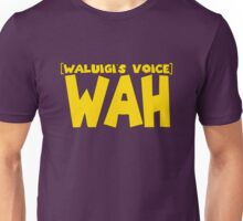 Wah Waluigi Voice Unisex T-Shirt