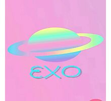 EXO  Abstract phone cases and more Photographic Print