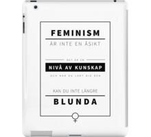 KUNSKAP #1 - [swedish] iPad Case/Skin