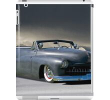 1951 Mercury 'Bug Crusher' Custom Convertible iPad Case/Skin