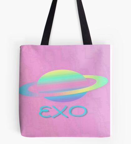 EXO  Abstract phone cases and more Tote Bag