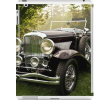 1935 Dusenberg SJ Convertible Coupe iPad Case/Skin