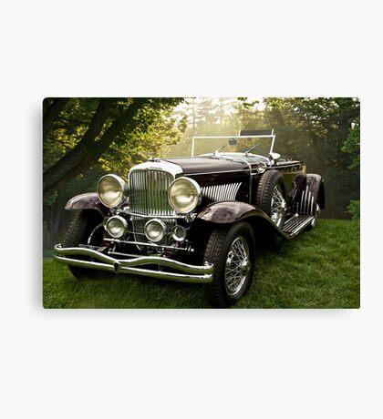 1935 Dusenberg SJ Convertible Coupe Canvas Print