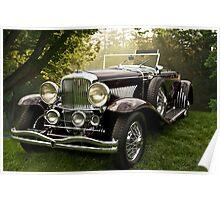 1935 Dusenberg SJ Convertible Coupe Poster