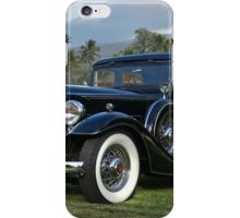 1933 Packard Super 8 Sedan iPhone Case/Skin