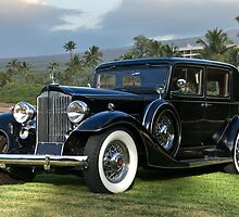 1933 Packard Super 8 Sedan by DaveKoontz