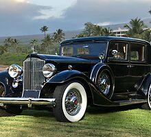 1933 Packard Super 8 Sedan by DaveKoontz