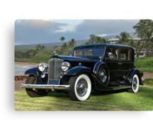 1933 Packard Super 8 Sedan Canvas Print